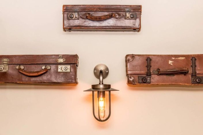 Vintage Suitcase Light